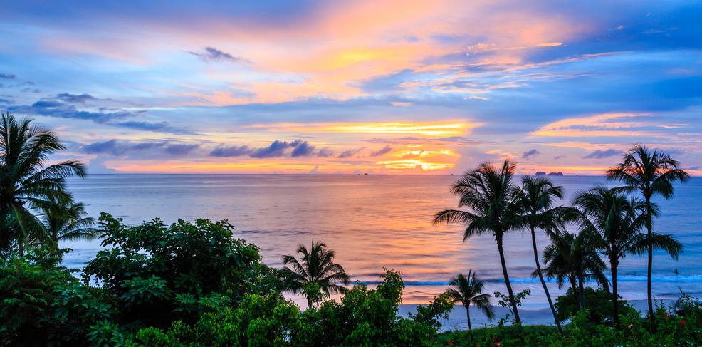 Kostaryka i Nikaragua ocean