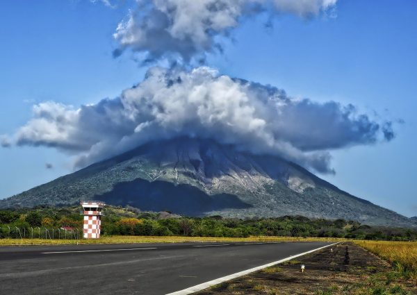 Kostaryka i Nikaragua wyspa ometepe
