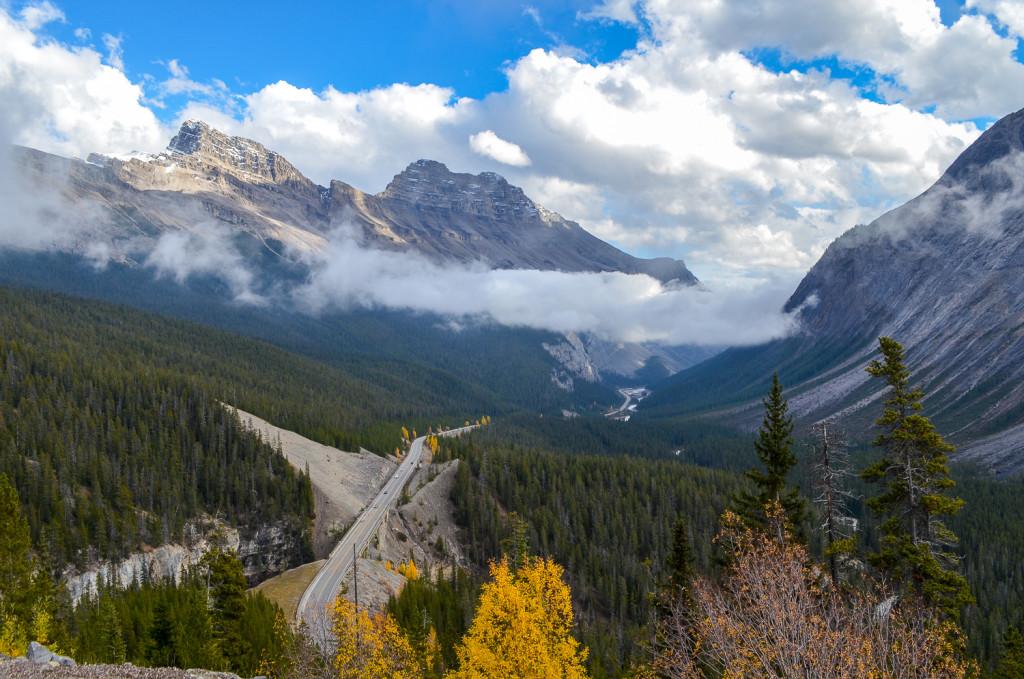 Kanada Icefields parkway