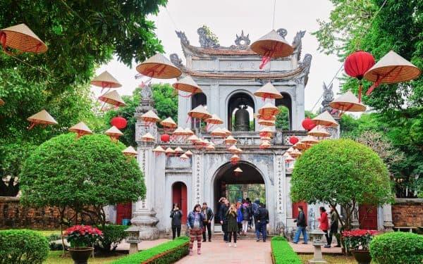 wietnam hanoi świątynia