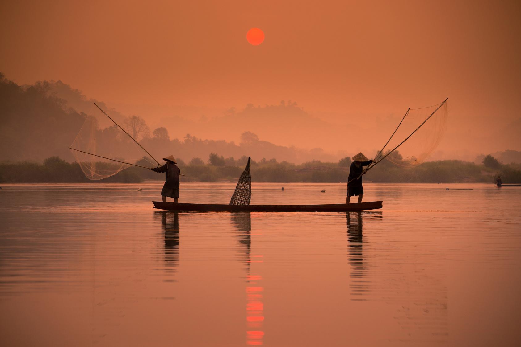 wietnam delta rzeki mekong