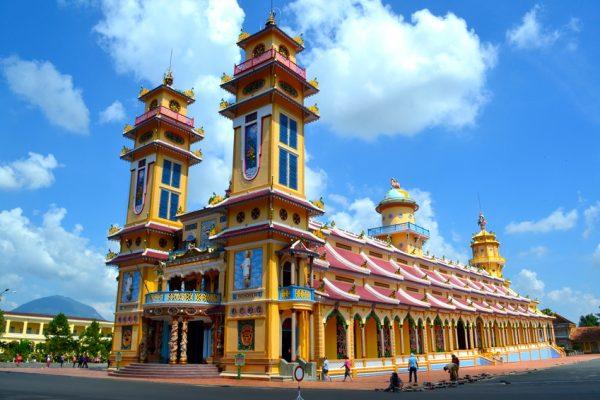 Wietnam świątynia cao dai