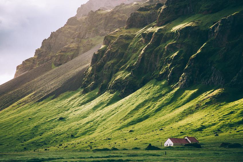 islandia interior trawy