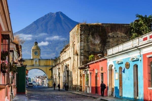 Meksyk Belize Gwatemala Antigua