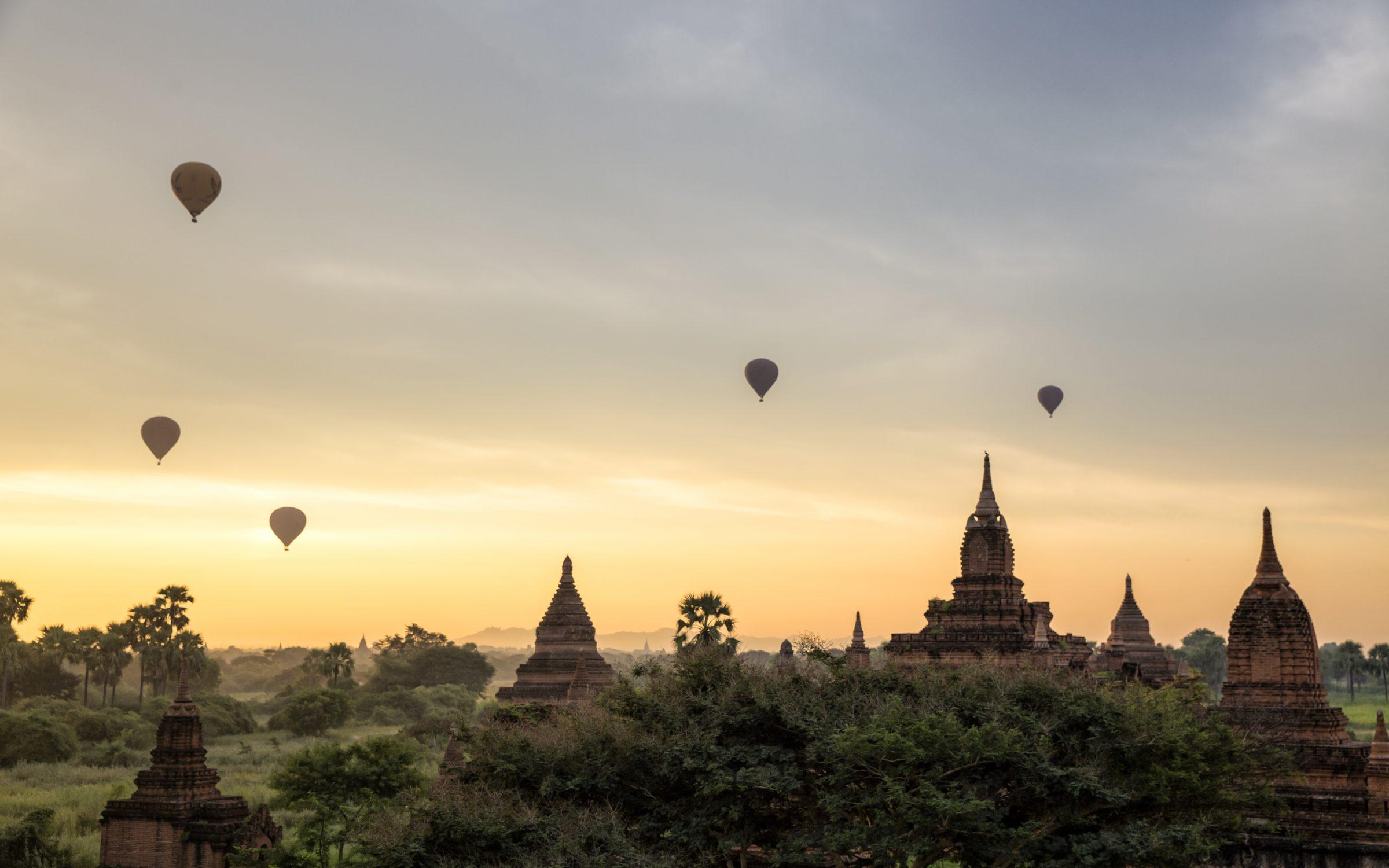 Tajlandia Birma Bagan XL