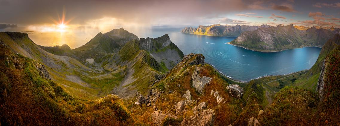 Norwegia Lofoty panorama