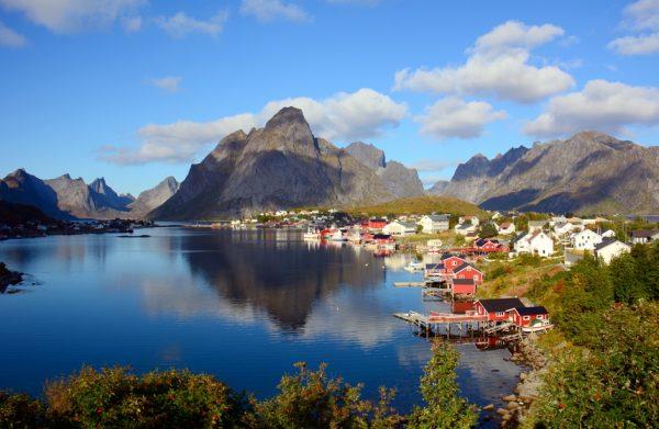 Norwegia Lofoty Reine 2