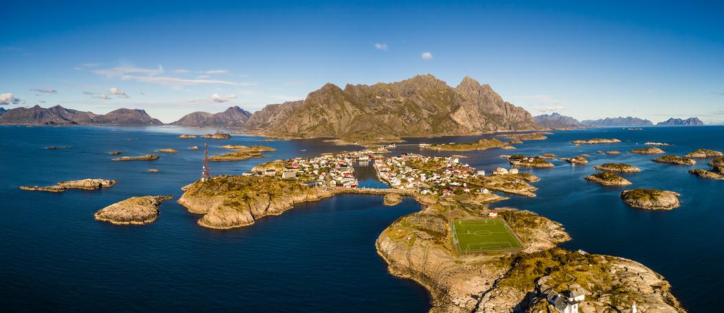 Norwegia Lofoty Henningsvaer