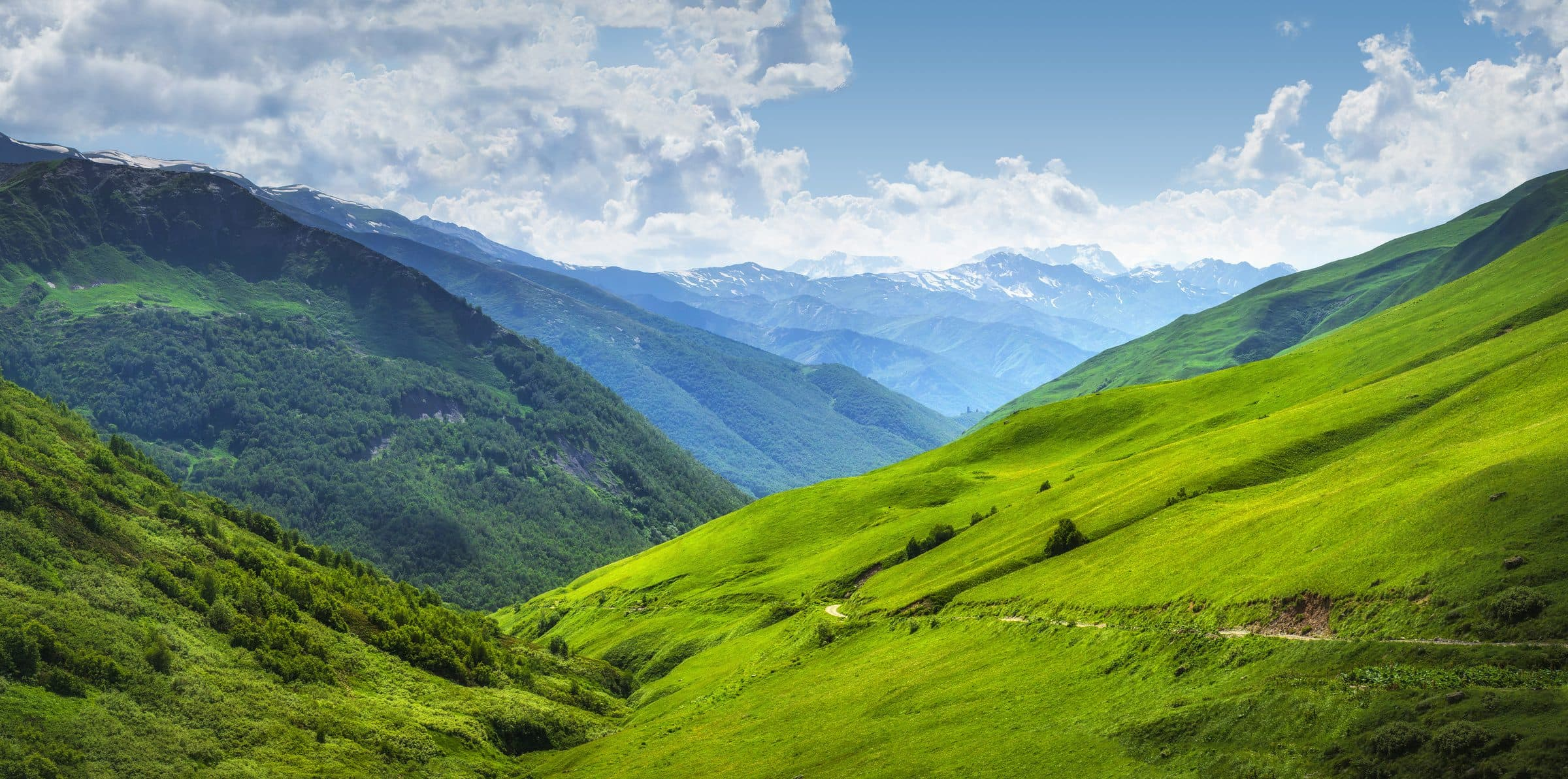 gruzja mestia góry kaukazu