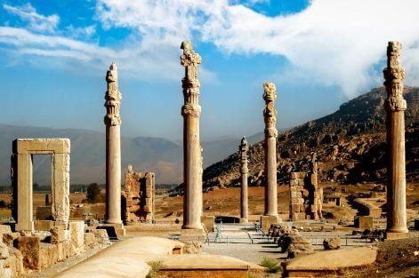 Iran Persepolis tło XL