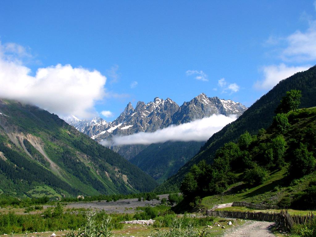 Wśród gór Kaukazu - Gruzja dla aktywnych 6