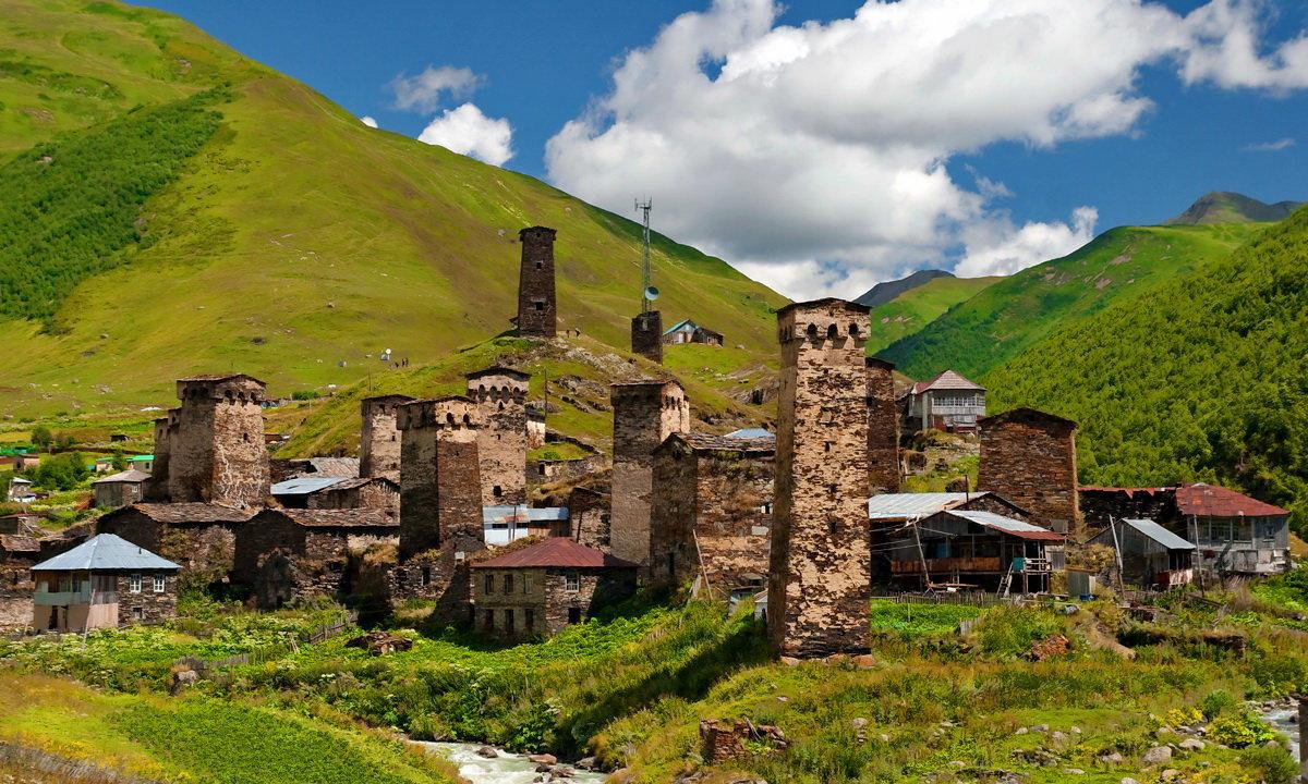 Wśród gór Kaukazu - Gruzja dla aktywnych 8