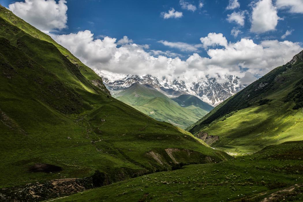 Wśród gór Kaukazu - Gruzja dla aktywnych
