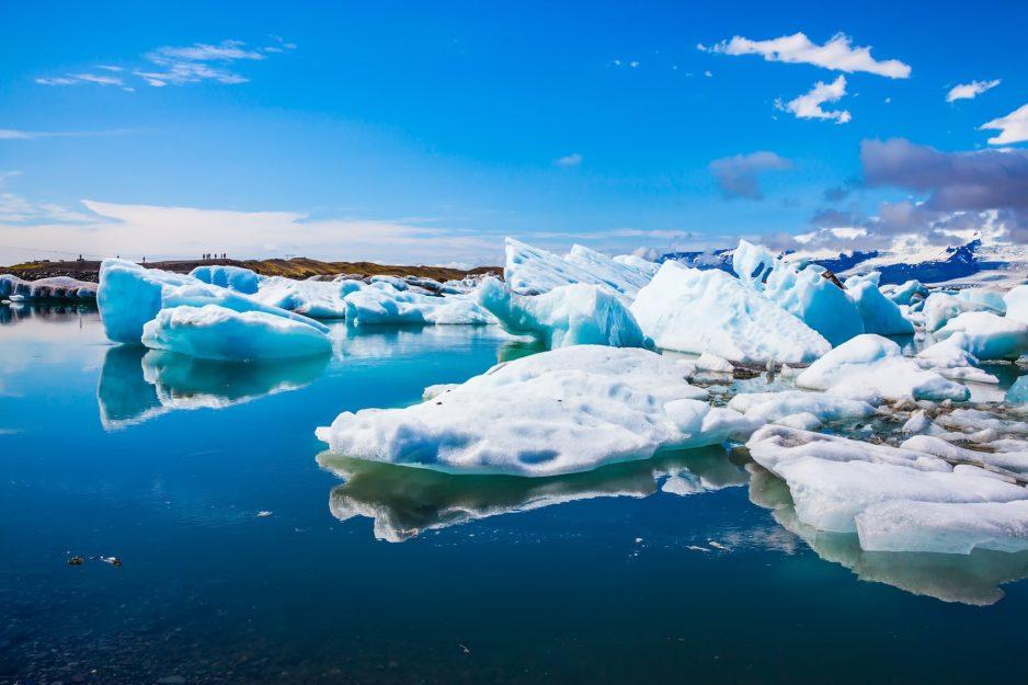 arktyka tło lód
