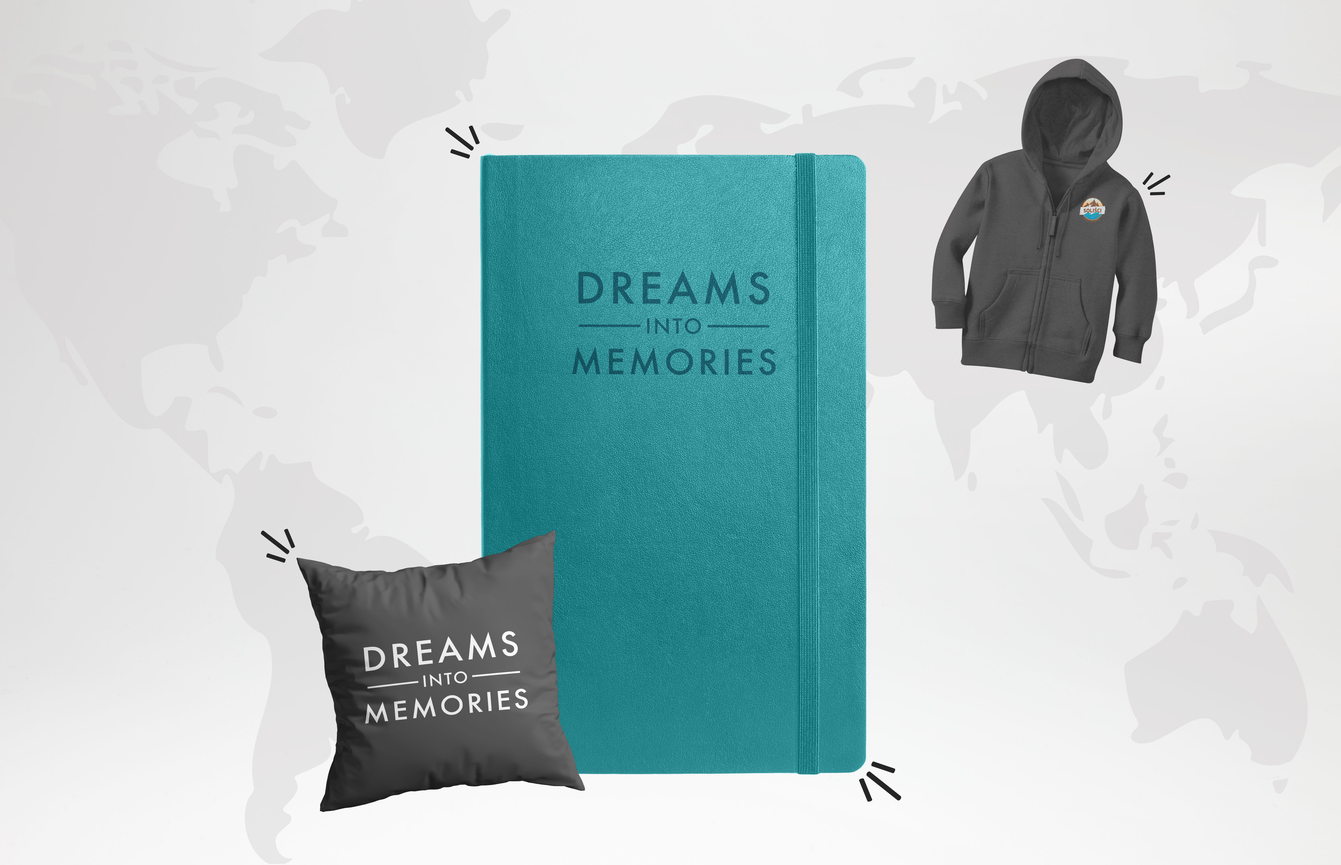 PROMOCJA: Travel Planner + Bluza + Poszewka 1