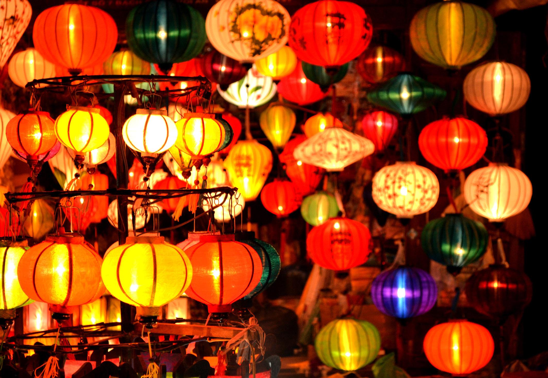 wietnam lampiony nowy rok