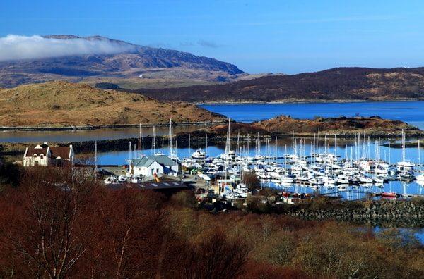 Szkocja Jacht 12