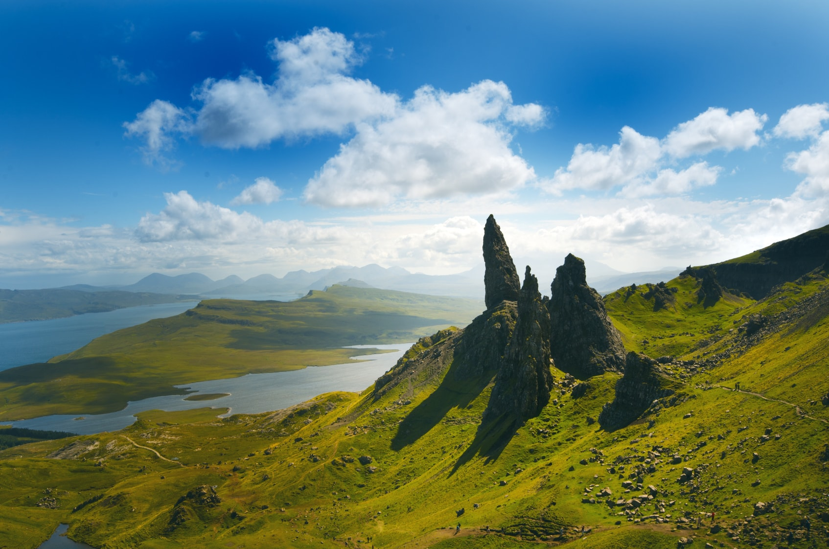 Szkocja Jacht skye