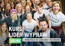 Kurs Lider Wypraw Online + Rekrutacja Szkolenie Stacjonarne
