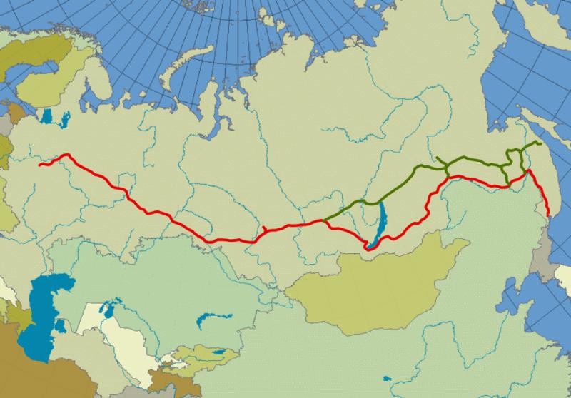 Szlaki kolei transsyberyjskiej – 3 trasy marzeń 1