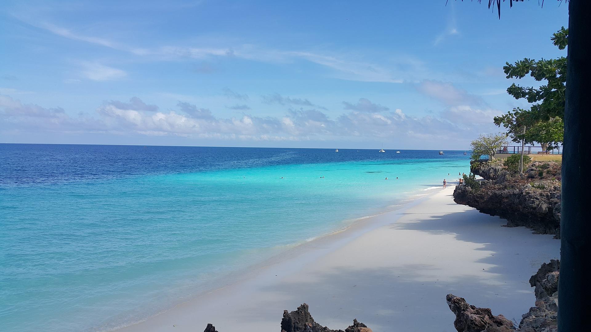 Kenia i Tanzania - ocean plaża