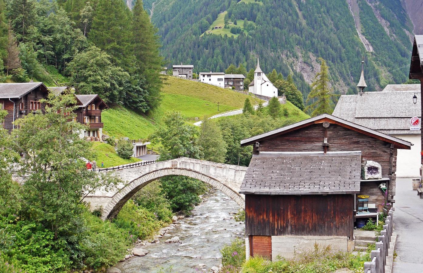 Szwajcaria – górska stolica Europy