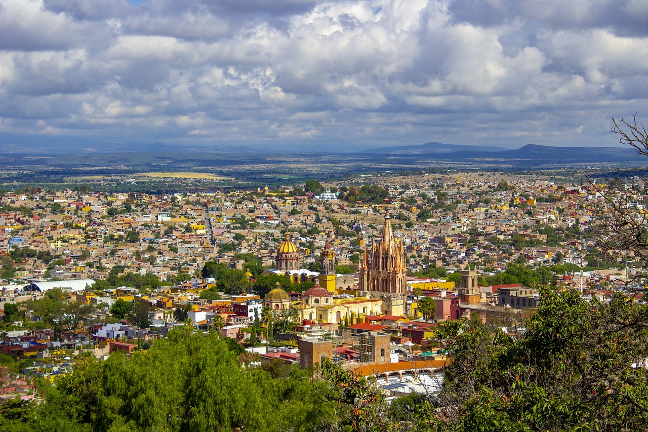 Meksyk zima miasto