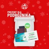 Prezent dla podróżnika Voucher 500 PLN + Travel Planner