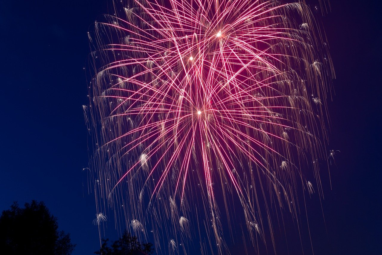 SYLWESTER 2020 fajerwerki sztuczne ognie