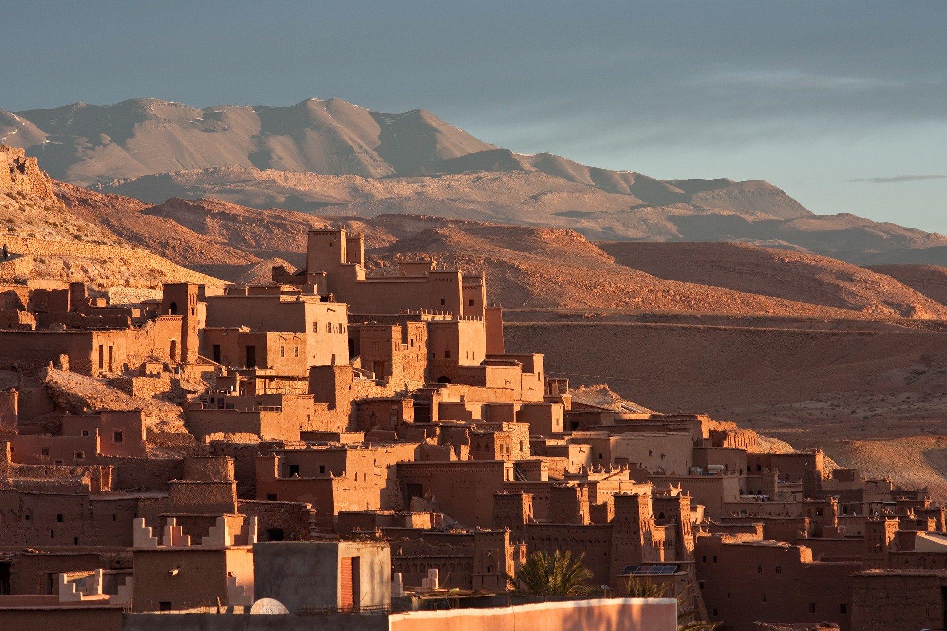 miasto pustynne